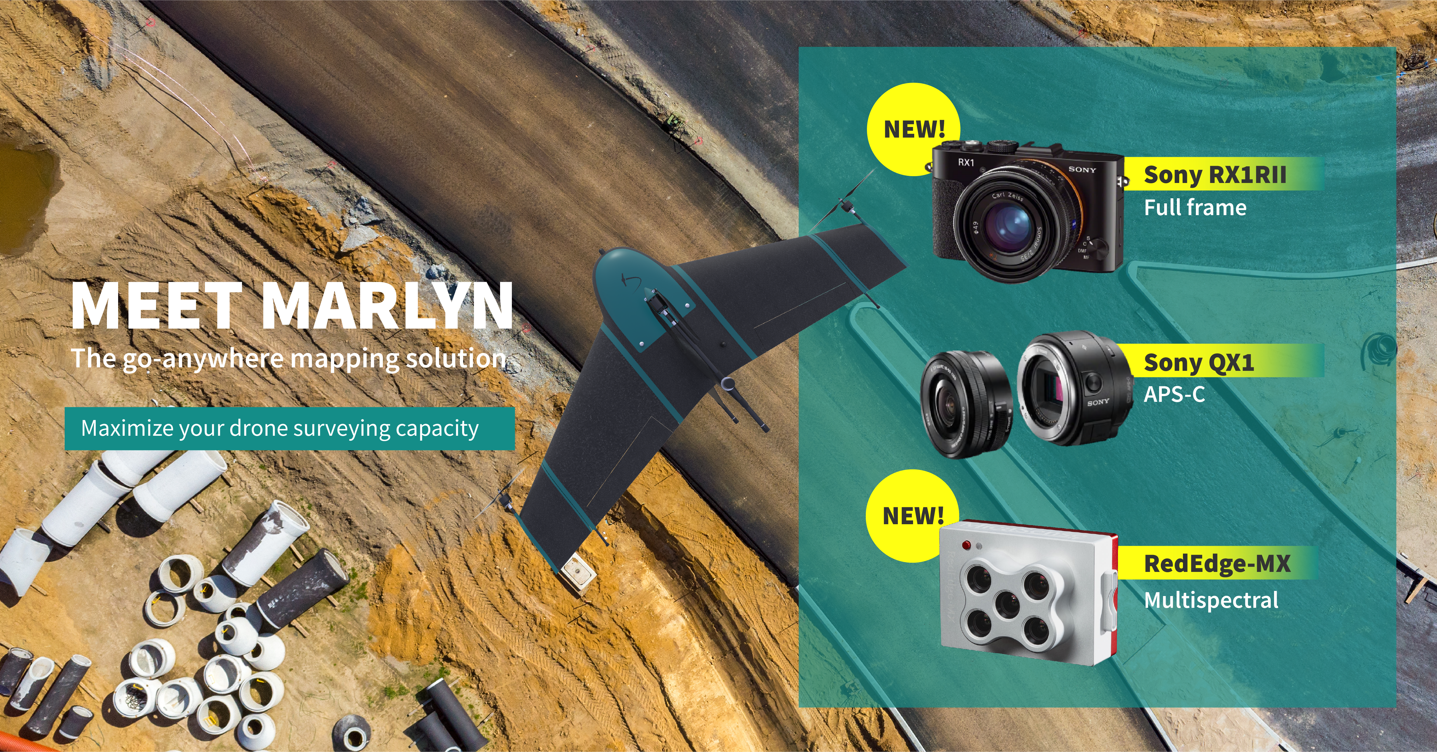 ATMOS UAV expands its camera options and launches new